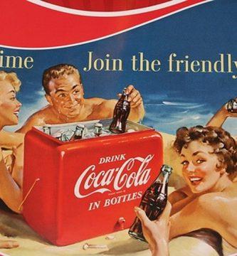 mini frigorifico coca cola retro